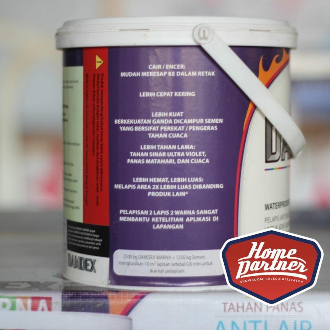 Damdex Warna 2 5kg Waterproof Pelapis Anti Bocor Homepartner Id
