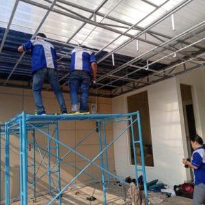 pemasangan plafon pvc manyar